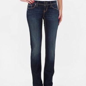BKE Stella Bootcut Jeans Dark Wash Size: 27L